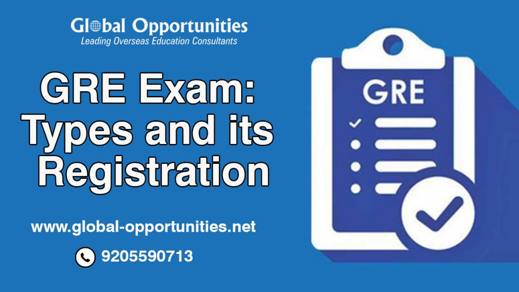 GRE Exam- Types and its Registration