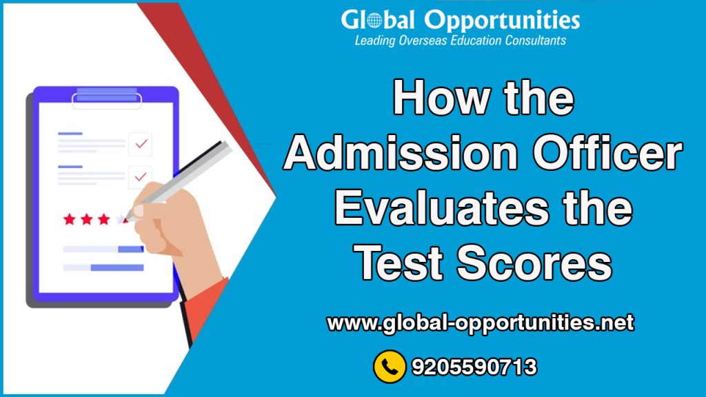 How the Admission Officer Evaluates the Test Scores