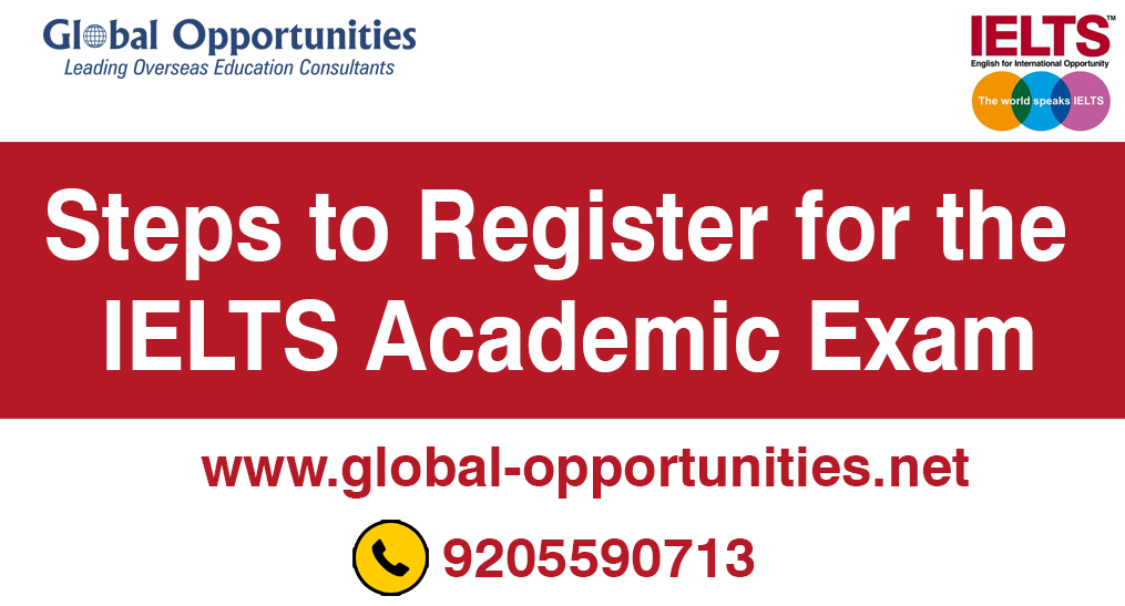 Steps to Register for the IELTS Academic Exam