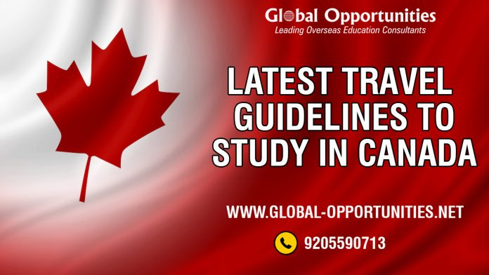 Latest Travel Guidelines to Study in Canada