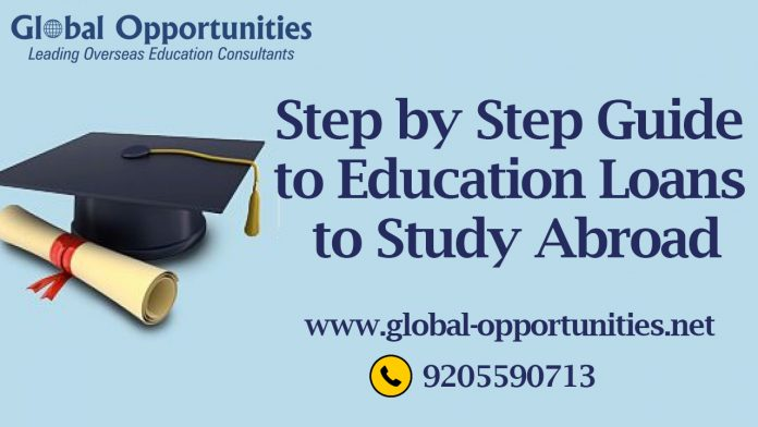 Step by Step Guide to education loan