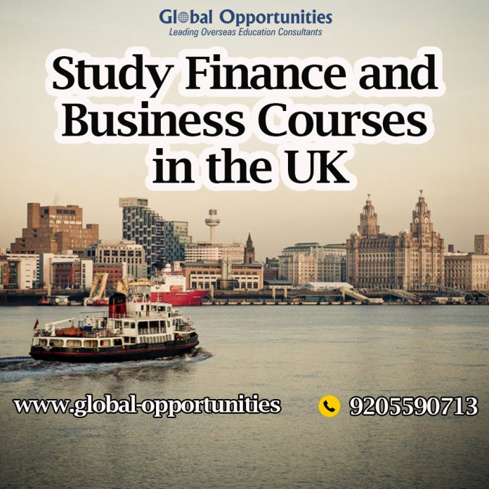 Study Finance and Business Courses in the UK