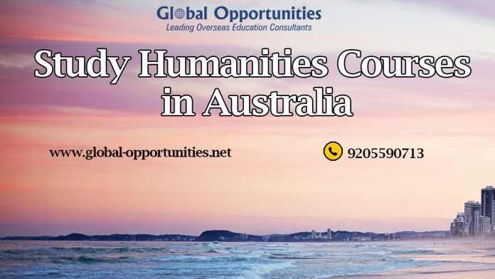 Study Humanities Courses in Australia