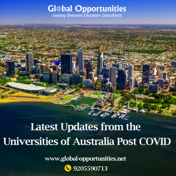 Latest Updates from the Universities of Australia Post COVID