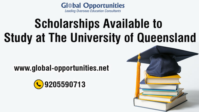 Scholarships Available to Study at The University of Queensland