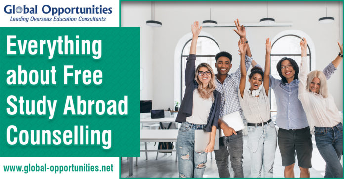 Free Study Abroad Counselling