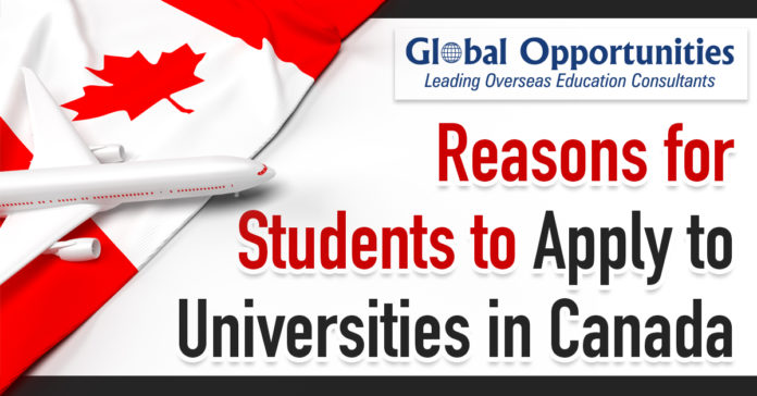 7 Reasons for Students to Apply to Universities in Canada