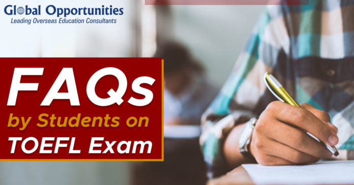 FAQs by Students-on-TOEFL-exam