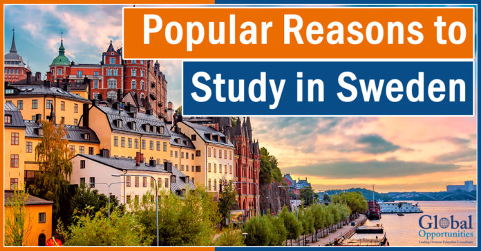 Popular Reasons to Study in Sweden