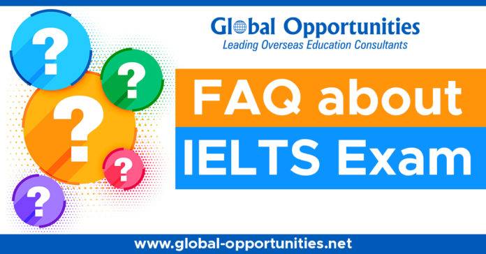 FAQ about IELTS Exam