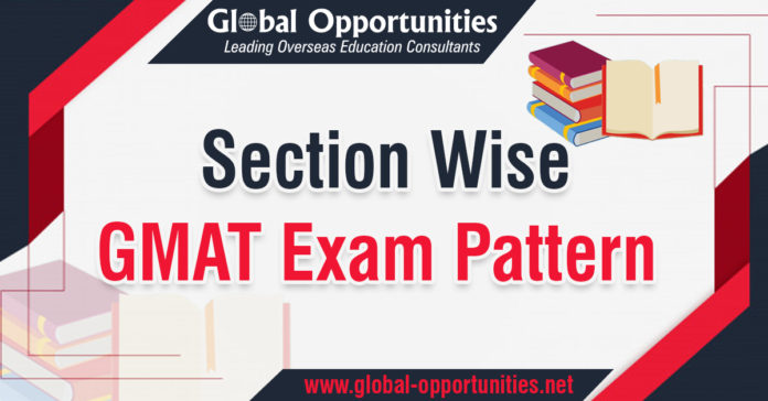 Section Wise GMAT exam pattern