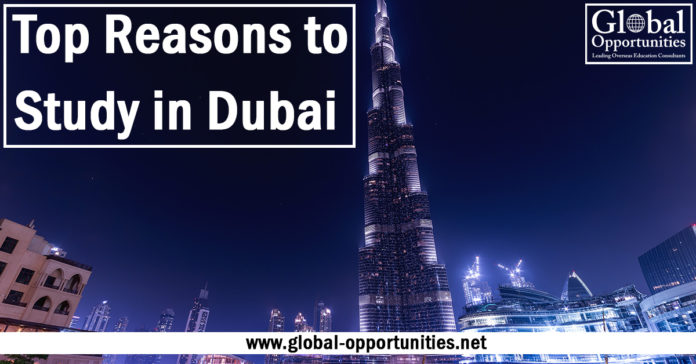 Top reasons to study in Dubai