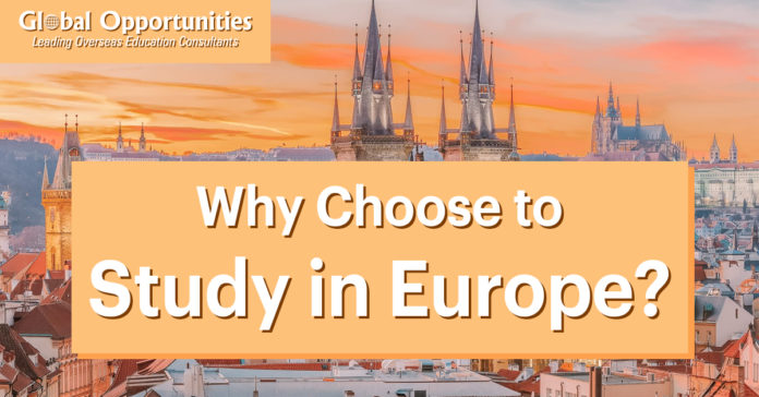 Why Choose to Study in Europe