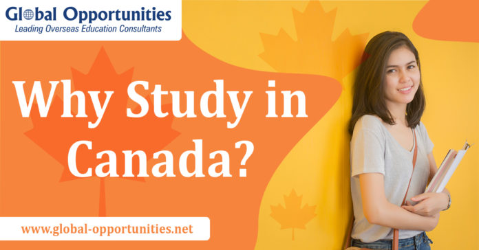 Check out why choose to study in Canada