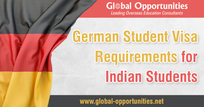 German Student Visa Requirements for Indian Students