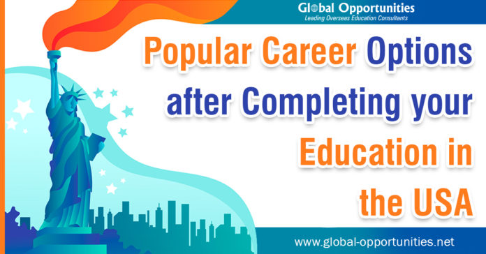 Career Options after Completing Study in USA