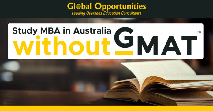 Study MBA in Australia without GMAT