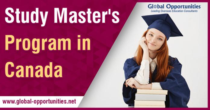 Study Masters Program in Canada