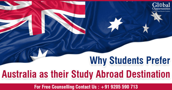 Why Students Prefer Australia As Their Study Abroad Destination