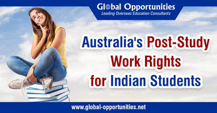 Australia's Post-Study Work Rights for Indian Students