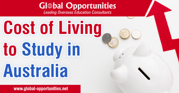 Cost of Living to Study in Australia