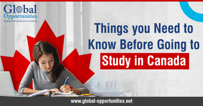 Things you Need to Know Before Going to Study in Canada