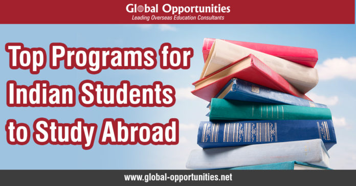 Top Programs for Indian Students to Study Abroad