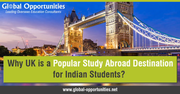 Why the UK is a Popular Study Abroad Destination for Indian Students?