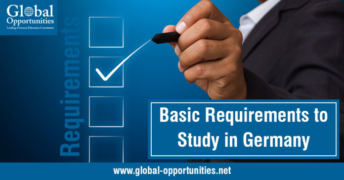 Basic Requirements to Study in Germany