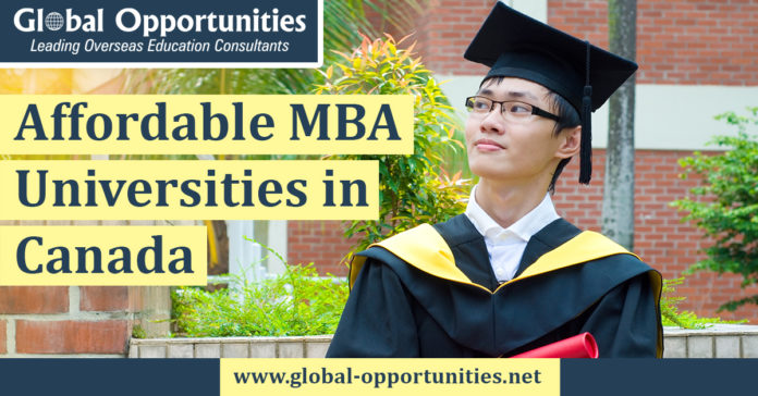 Affordable MBA Universities in Canada