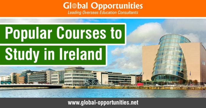 Popular Courses to Study in Ireland