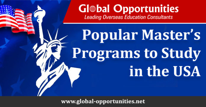Popular Master's Programs to Study in the USA
