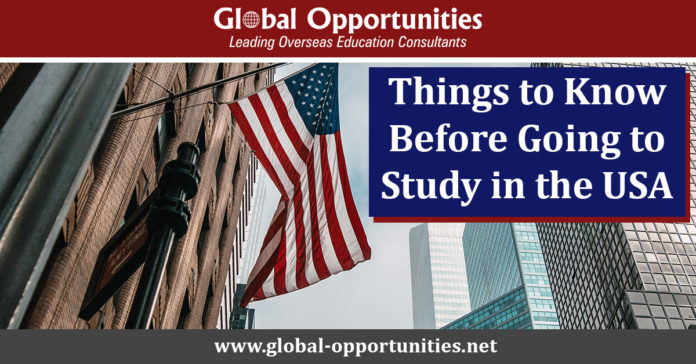 Things to Know Before Going to Study in the USA