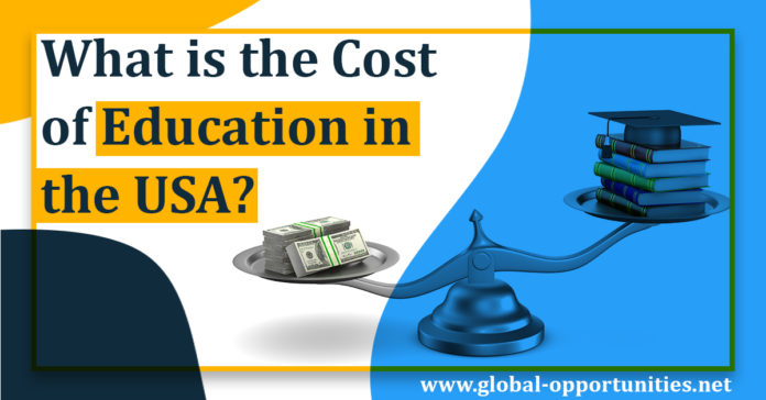 What is the cost of Education in USA