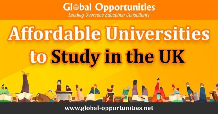 Affordable Universities to Study in the UK
