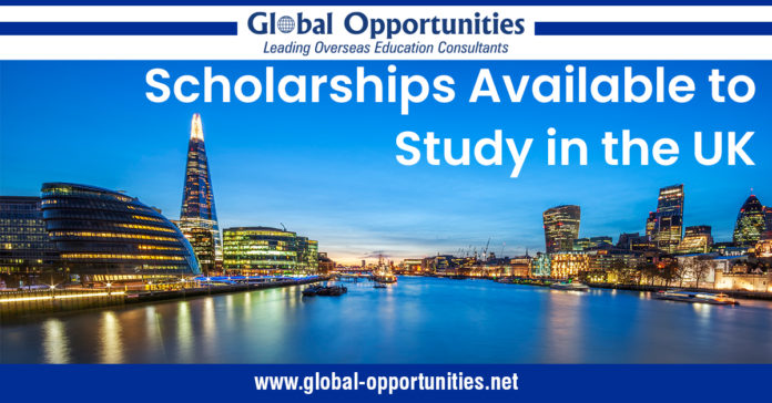 Scholarships Available to Study in the UK